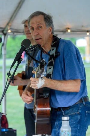 Singer/songwriter Howie Newman performs classic rock hits at Center Stage in Lakeville.