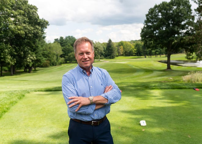 Brian Dugan, Tatnuck Country Club general manager, recently oversaw renovations at the Worcester golf course.