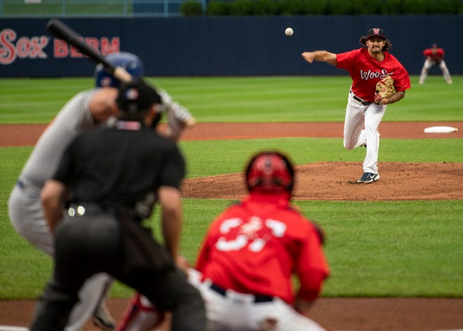 Connor Seabold again hurled six impressive shutout innings for the WooSox, this time Saturday night at Rochester.