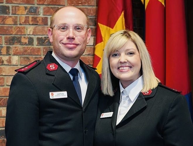 Capts. Bradley and Stephanie Hargis are the new leaders of The Salvation Army in Fort Smith. They previously served in Ponca City, Pine Bluff and Hot Springs.