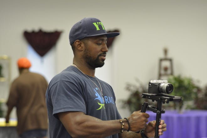 Tony Shivers, who was incarcerated for a total of eight years, now works as an advocate for formerly incarcerated people. He also owns his own photography company.