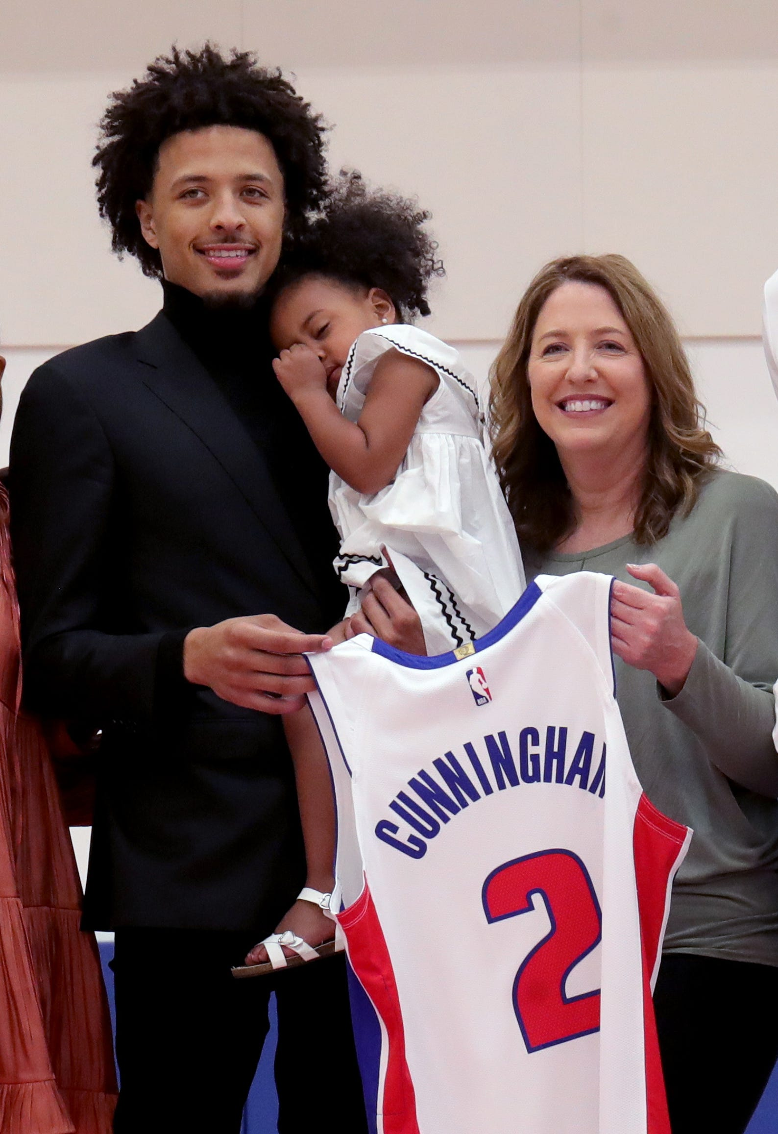 Detroit Pistons introduce Cade Cunningham, 2021 NBA draft class