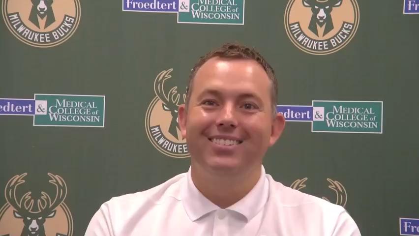 Milwaukee Bucks general manager talks about winning NBA championship