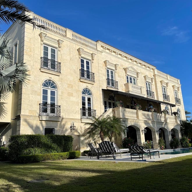 This home at 111 Fifth Ave. S. in Naples recently sold for $12 million. It's one of the highest priced sales in the neighborhood over the past two years.