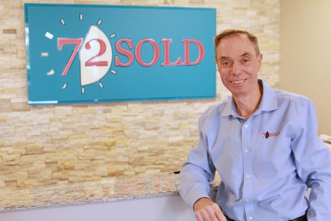 Real estate expert and veteran Greg Hague founded Scottsdale-based real estate consulting firm 72 Sold in 2018. The business model allows homeowners to sell their home using an auction-like process within 72 hours.