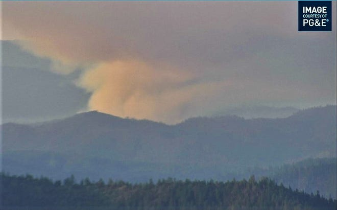The lightning-caused McFarland Fire is burning south of Highway 36 near Wildwood in the Shasta-Trinity National Forest. The fire started overnight after a series of thunderstorms passed over the western side of the forest. More lightning is predicted and crews are prepared to respond as fires are detected, forest officials said.