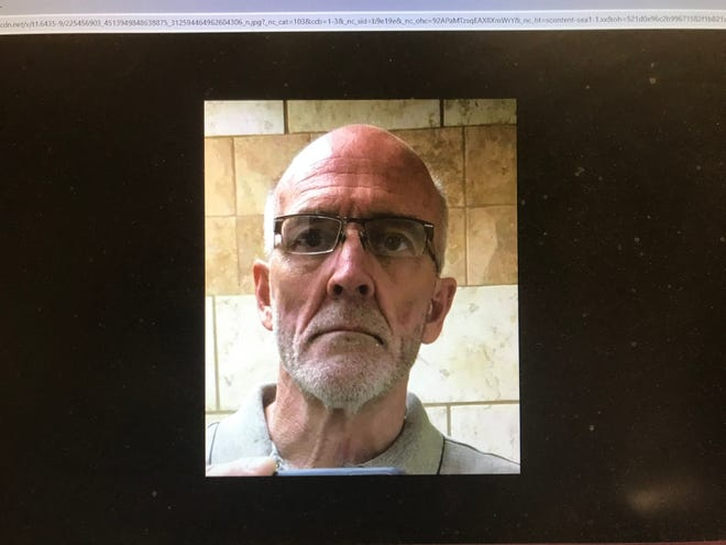A screenshot taken by cellphone of Darren Corley, who officials say went missing Wednesday, July 28. A spokesperson with the San Angelo Police Department say Corley's vehicle was found at San Angelo State Park.