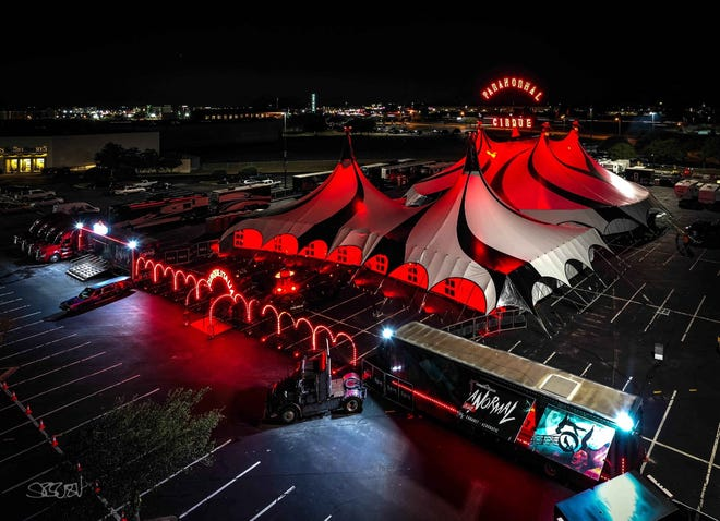 Paranormal Cirque tent