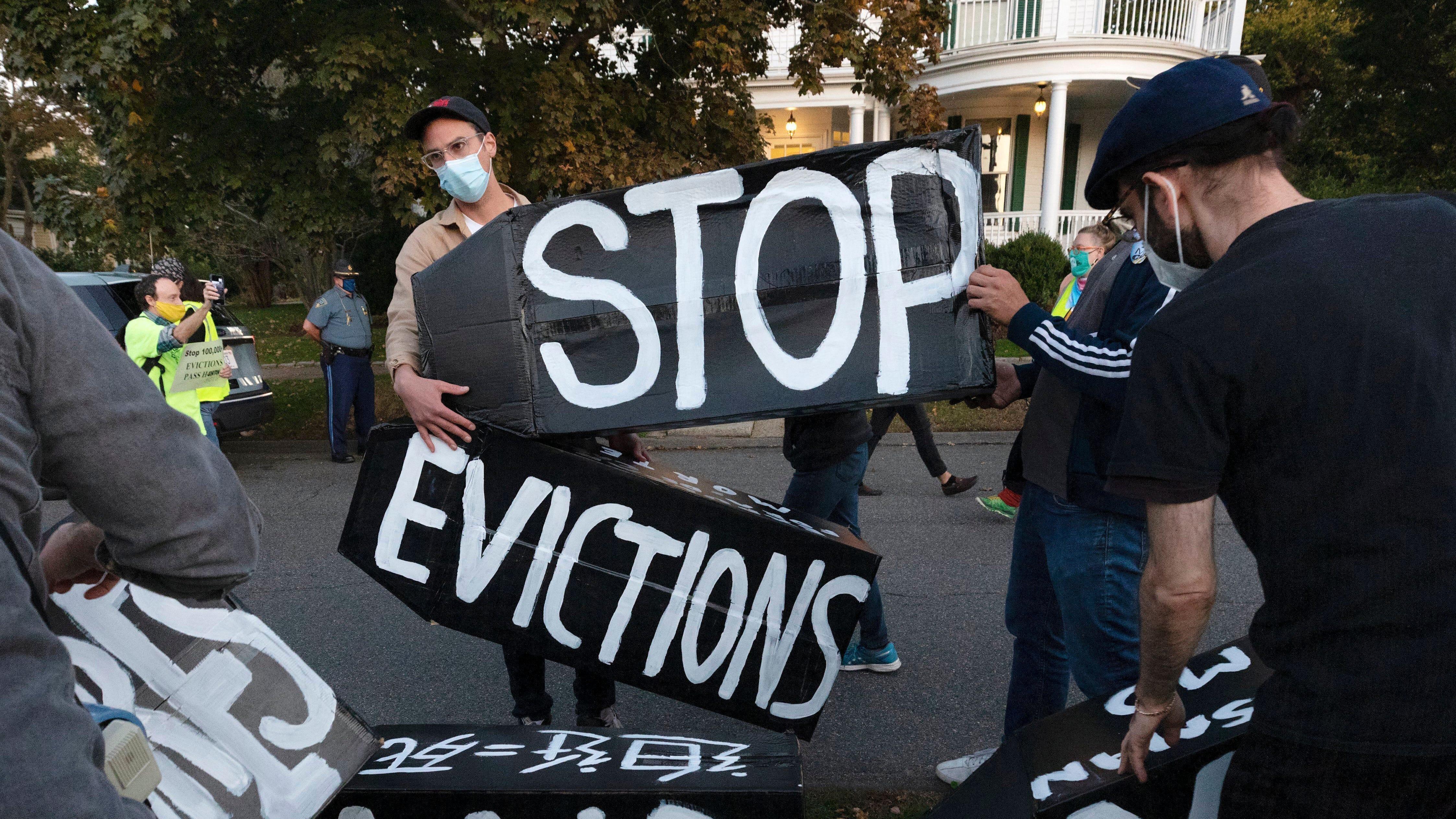 In Delaware, few tenants get evicted