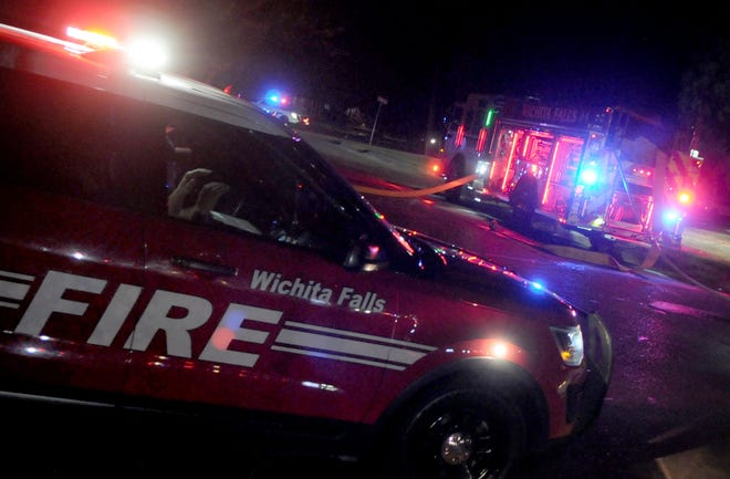 Firefighters responded to a report of an apartment fire shortly after 2 a.m.