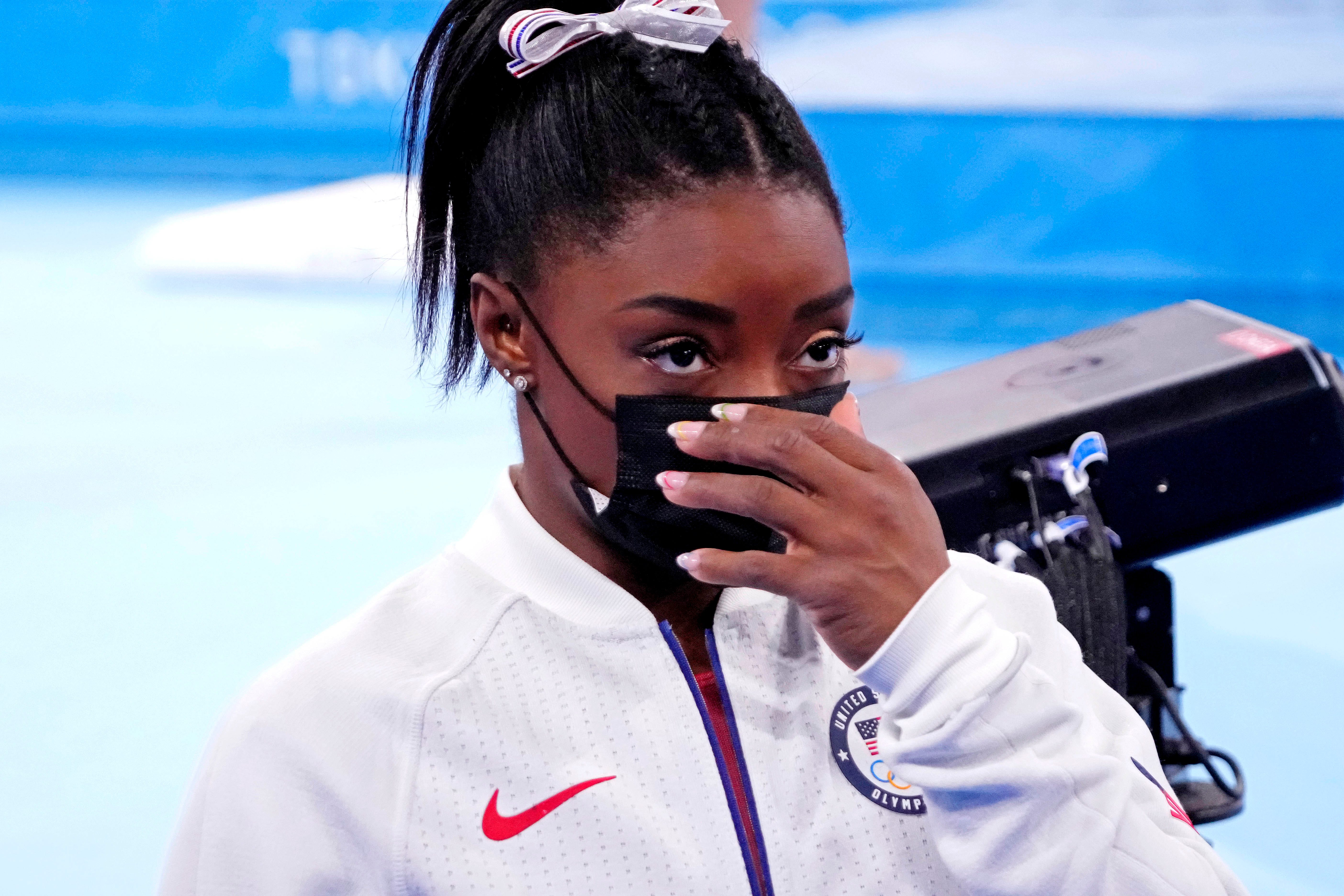 Simone Biles still struggling with  twisties,  raising new doubts about returning at Olympics