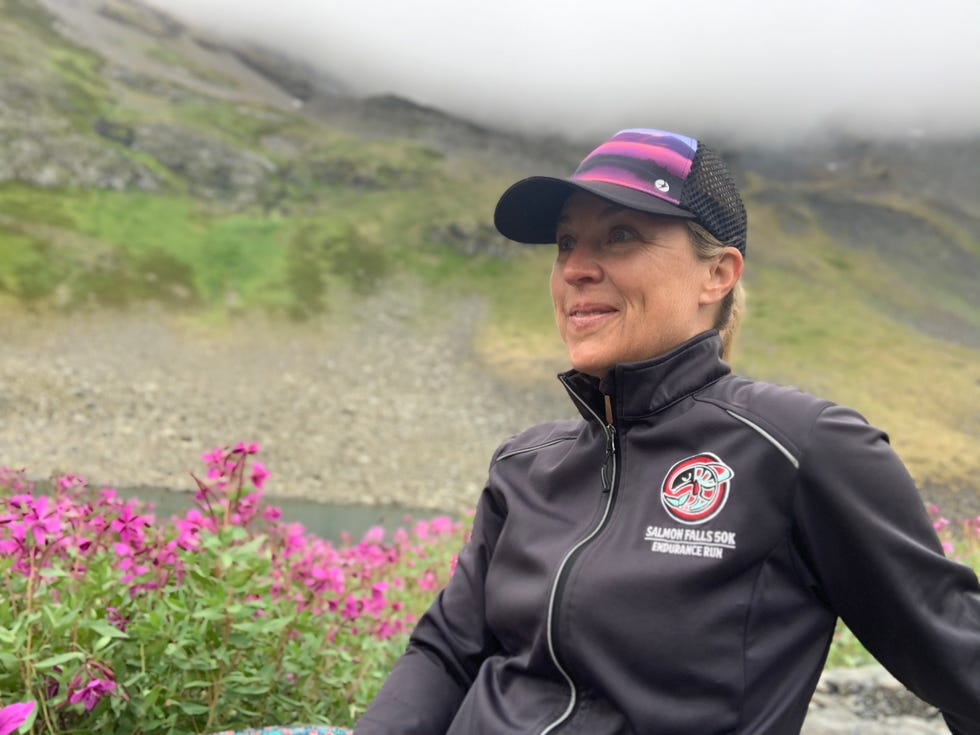 Enjoying quiet and stillness amidst the wildflowers and wilderness – and no cell or wifi connection – on Alaska's Kenai Peninsula.