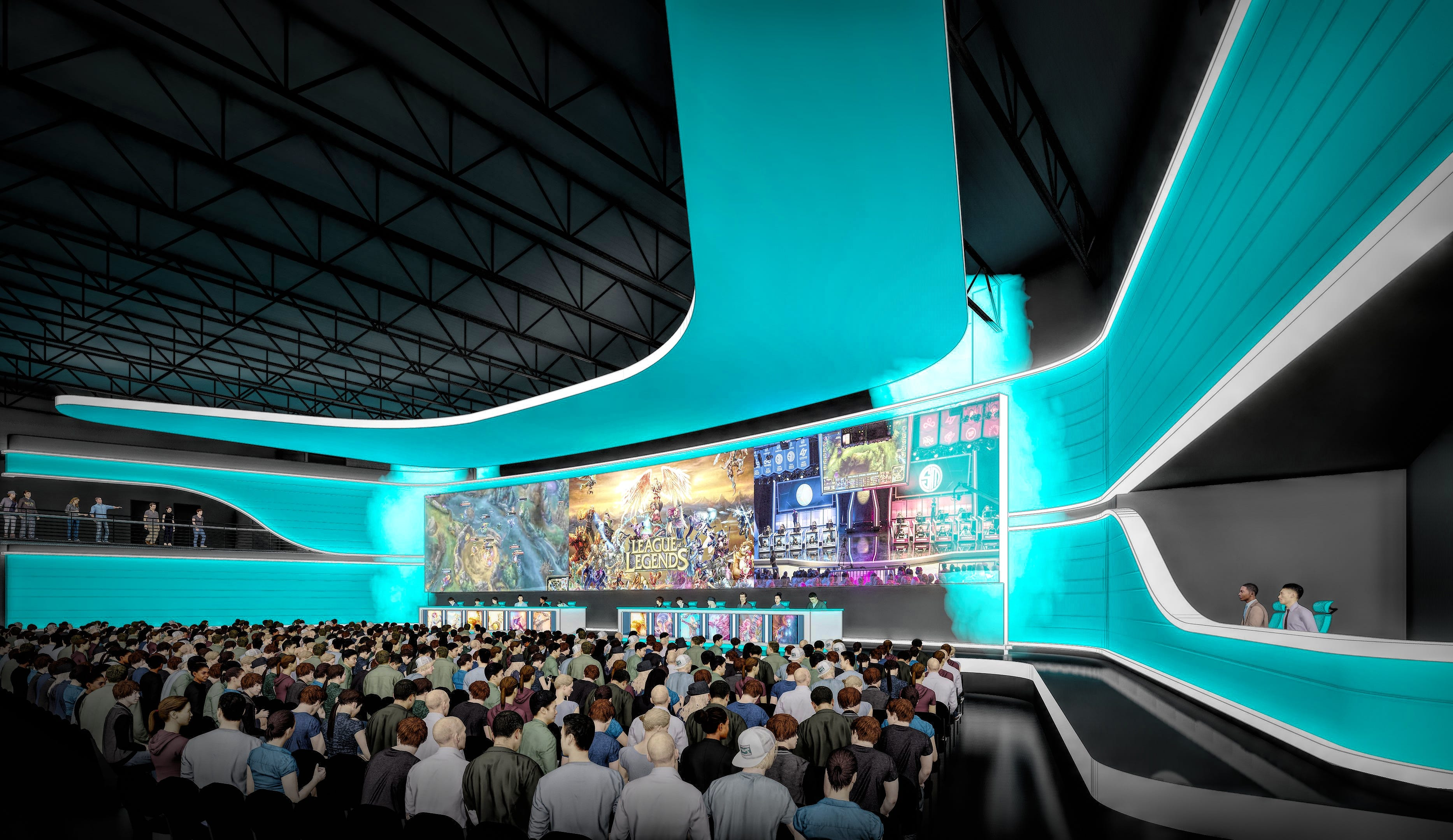 Cedar Point's parent company is developing an esports arena with 200 gaming stations