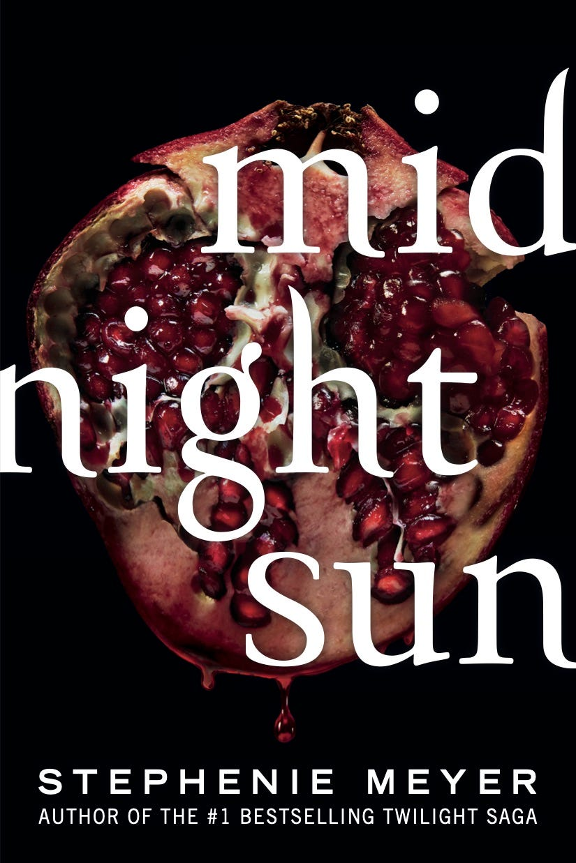 'Midnight Sun' and 'Twilight' saga books getting new paperback editions: See the covers