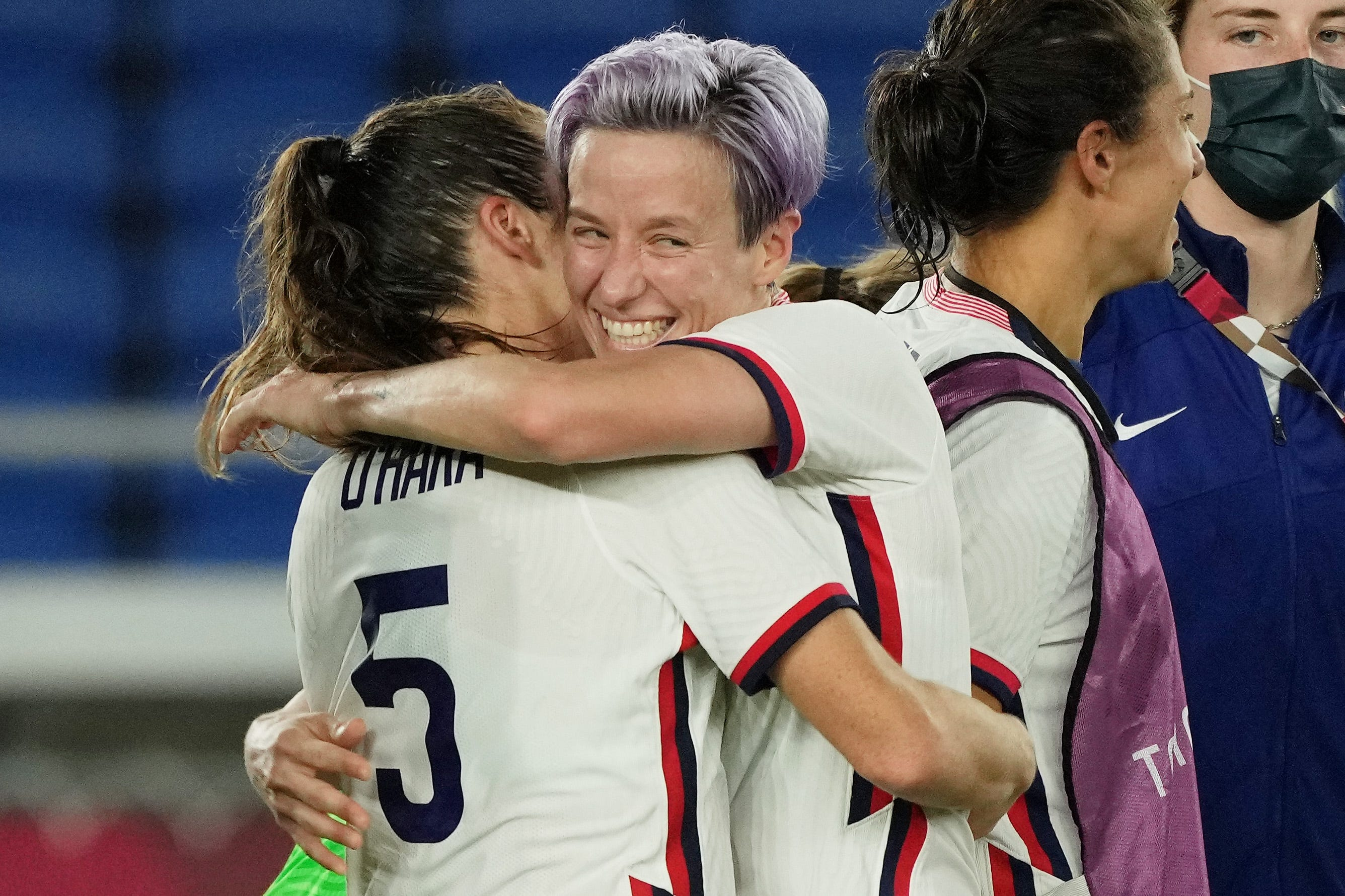 USWNT uses penalty kicks to escape with quarterfinal win against Netherlands at Tokyo Olympics