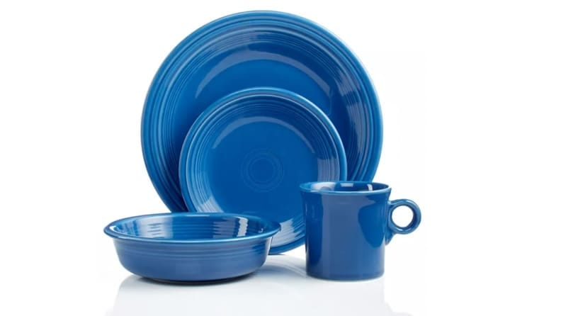 I dropped Fiestaware on the floor every day for one month