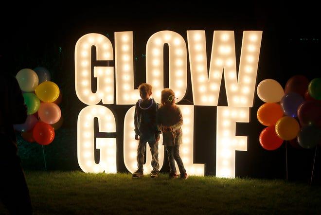 The city of Ashland's second Let's Glow Golf event at Brookside Golf Course on Friday, July 30, 2021. TOM E. PUSKAR/TIMES-GAZETTE.COM