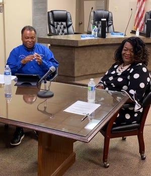 Donaldsonville Mayor Leroy Sullivan's Making Progress program featured guest Wanda August.