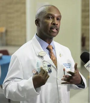 Dr. Leon L. Haley Jr., the late CEO of UF Health Jacksonvlle.