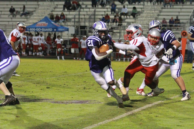 Dutchtown running back Dylan Sampson returns after rushing for over 3,100 yards and more than 40 touchdowns the past two season.
