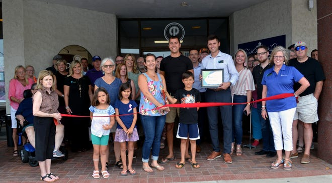 Congratulations to Phoebe and Mark Davenport with Levare Properties on the recent ribbon-cutting at Plaza Towers, located at 17 E. Second in Downtown Hutchinson. Stop by and check out all the recent renovations that have been made to this iconic downtown building!