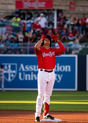 The hitting streak goes on for Yairo Muñoz.