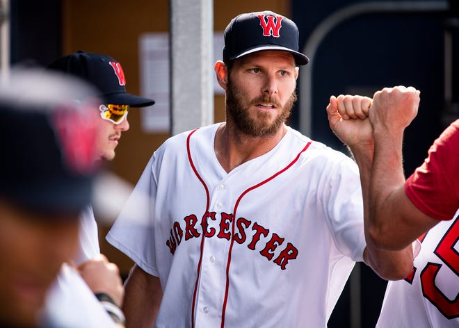 Red Sox pitcher Chris Sale has made the most of, and enjoyed, his time rehabbing with the WooSox.