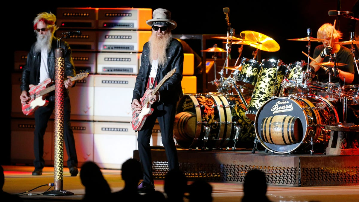PHOTOS: ZZ Top plays Tuscaloosa after the death of bass player Dusty Hill