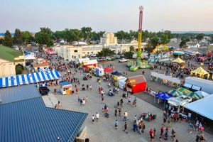 The Montana State Fair at Montana ExpoPark on July 30, 2021.