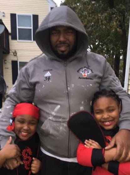 Larry Hall and his 9-year-old daughter, La'Rea (left), died Feb. 2, 2021, after they were shot while in their vehicle by Interstate 264 and Bells Lane in Louisville. Larry's daughter and La'Rea's sister, Ka'Narri (right), is now nine years old and was wounded but survived the shooting.