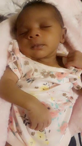 Del'luna Banks was seven weeks old when she died June 19, 2021, after her father allegedly shook and threw his daughter to the ground inside their Louisville home.