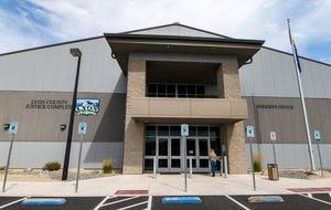 Lyon County Justice Complex building.