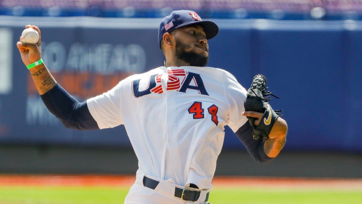 On Olympic duty for Team USA in Tokyo, Simeon Woods Richardson dealt at MLB trade deadline