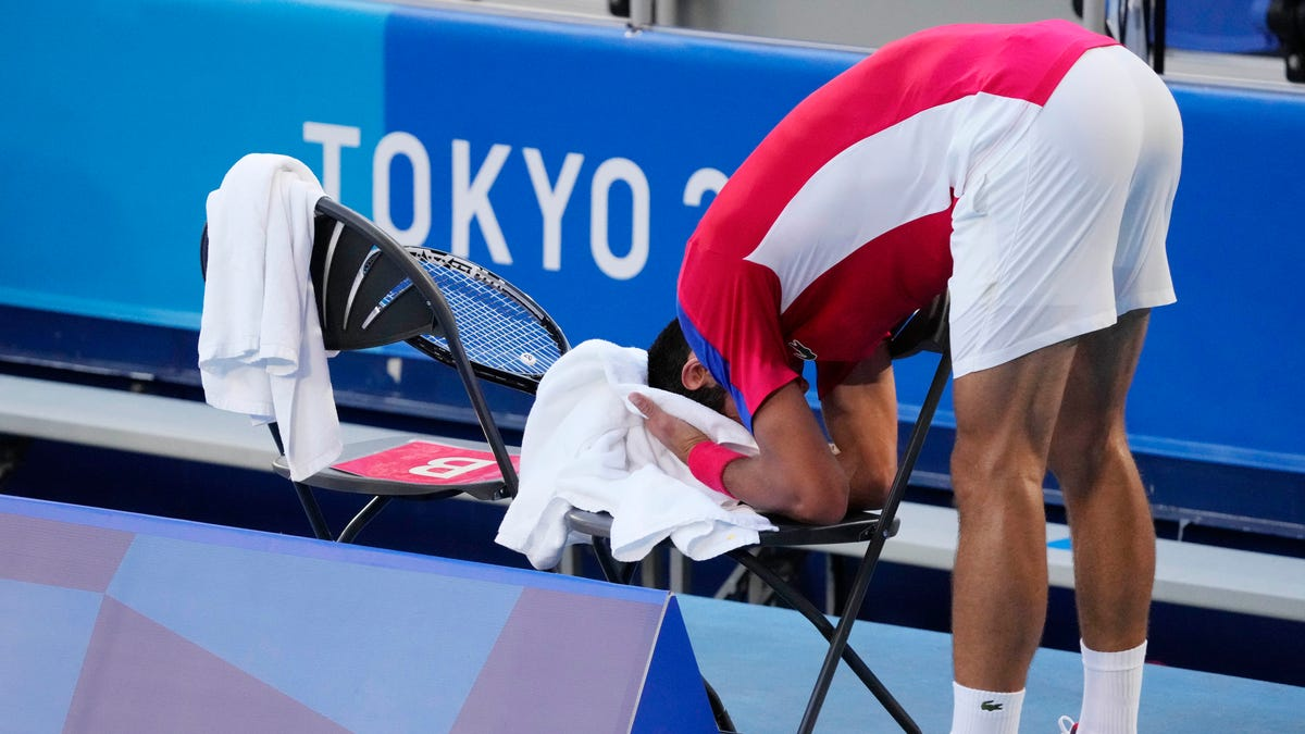 Novak Djokovic fails to medal in singles at Olympics as Pablo Carreno Busta wins bronze