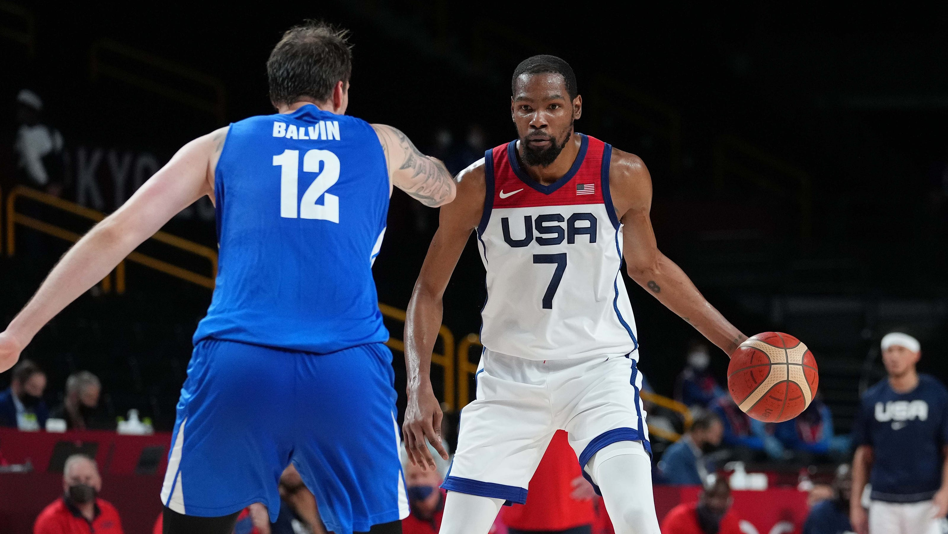 Kevin Durant sparks Team USA to win over Czech Republic, second place in group play at Tokyo Olympics