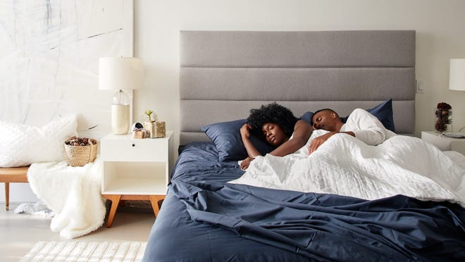 Our favorite weighted blanket is on sale for 20% off.