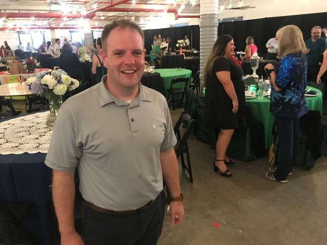 Wil Evans, president of Maury County Chamber & Economic Alliance, welcomed hundreds of business professionals at the organization's annual dinner at The Factory at Columbia on Thursday.
