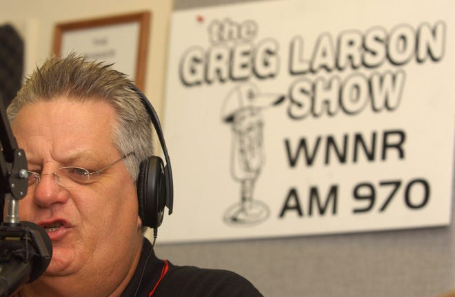 Greg Larson's sports talk radio show was carried by a number of stations on the First Coast in the past 32 years. He passed away on Saturday.