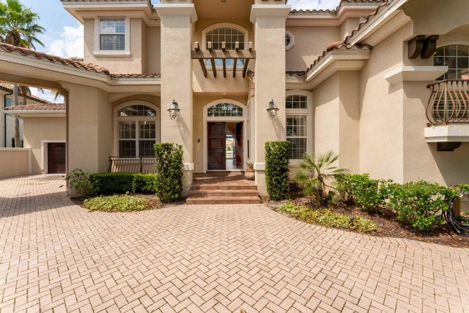 The house at 116 Harbourmaster Court in Ponte Vedra sold for $2.35 million.