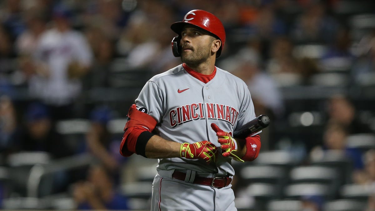 Spin Citi: Joey Votto misses home run in eighth consecutive game 'by an eyelash' vs. Mets
