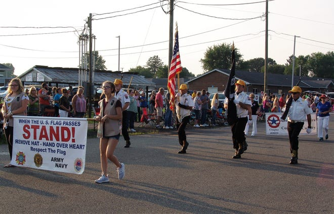 The West Lafayette Homecoming parade stepped off Friday evening during this year's 73rd annual festival.