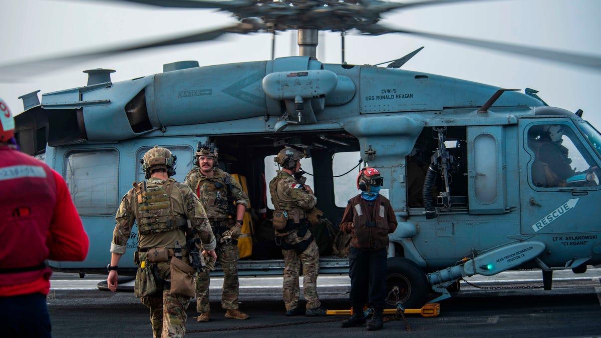 US Navy says drone strike hit oil tanker off Oman, killing 2 3