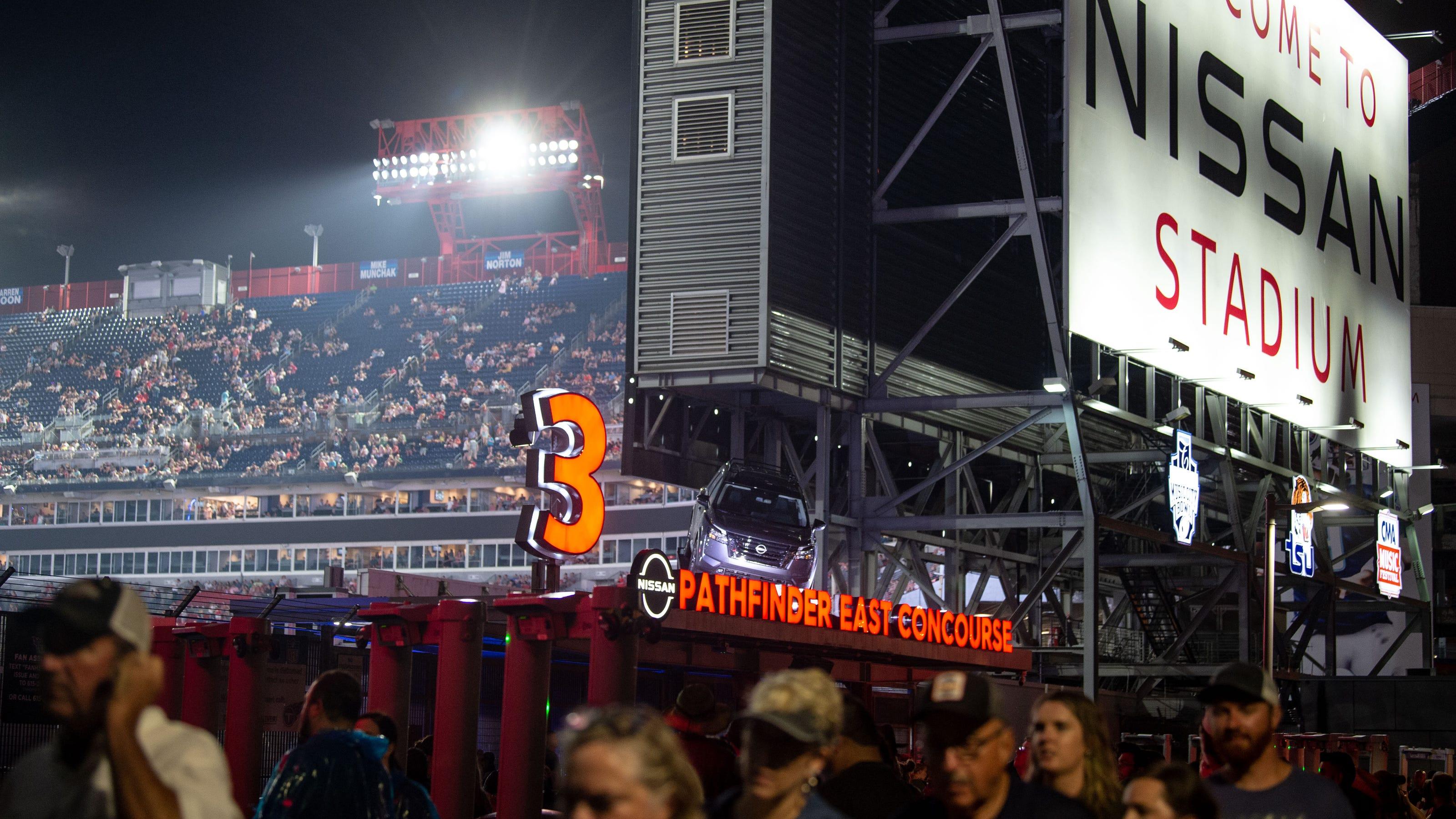 Garth Brooks concert at Nissan Stadium postponed due to severe weather - Tennessean
