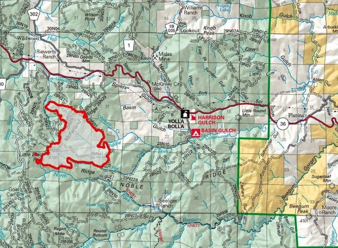 The McFarland Fire has burned more than 2,100 acres in southwest Trinity County.