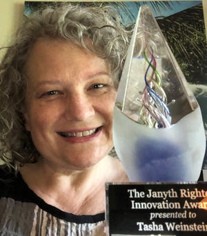 Tasha Weinstein, WFSU Public Media Education and Engagement Manager was named the 2021 recipient of the Janyth Righter Innovation Award.