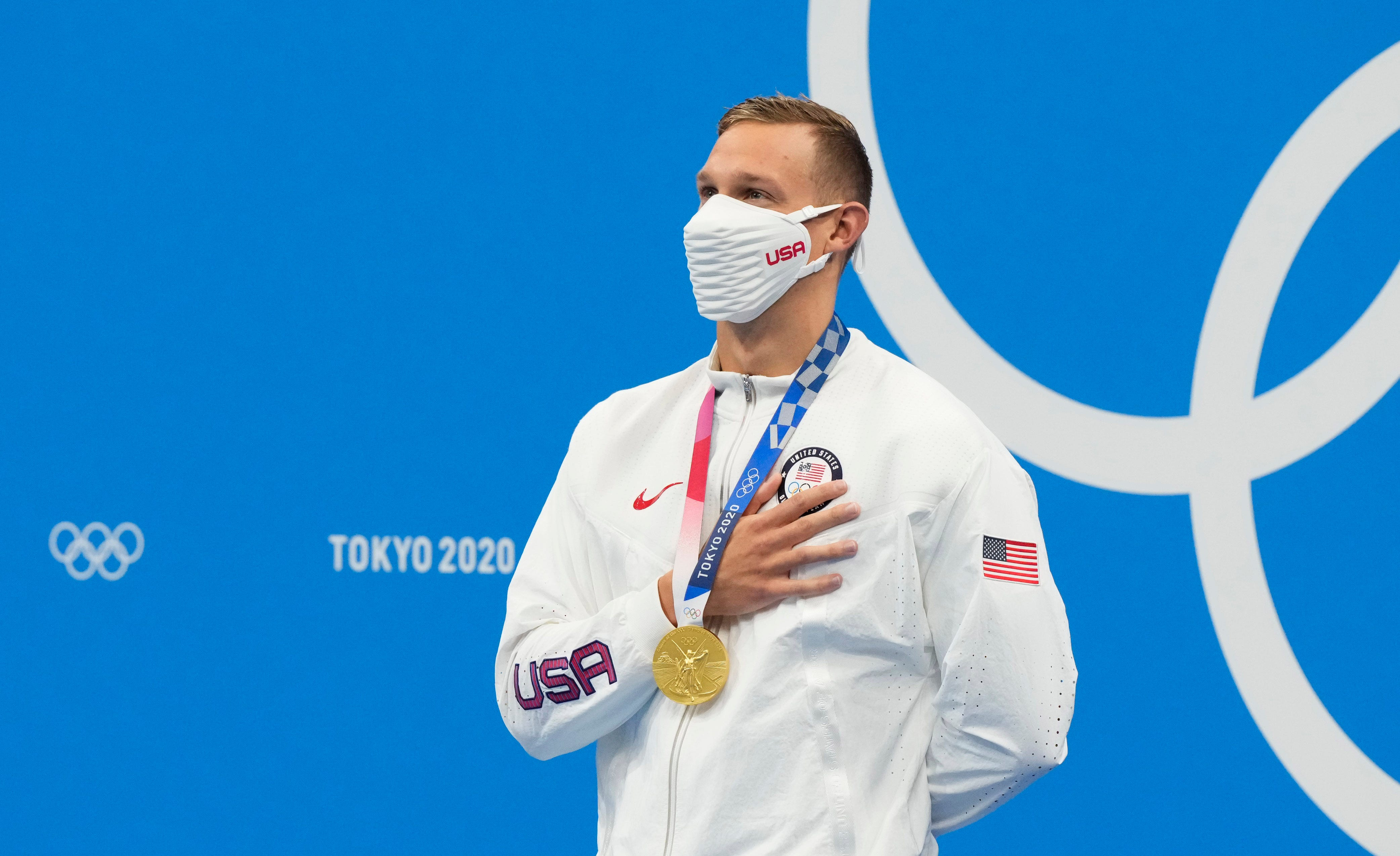 Tokyo Olympics live updates: Caeleb Dressel wins his fourth and fifth gold medals, Simone Biles out of floor exercise