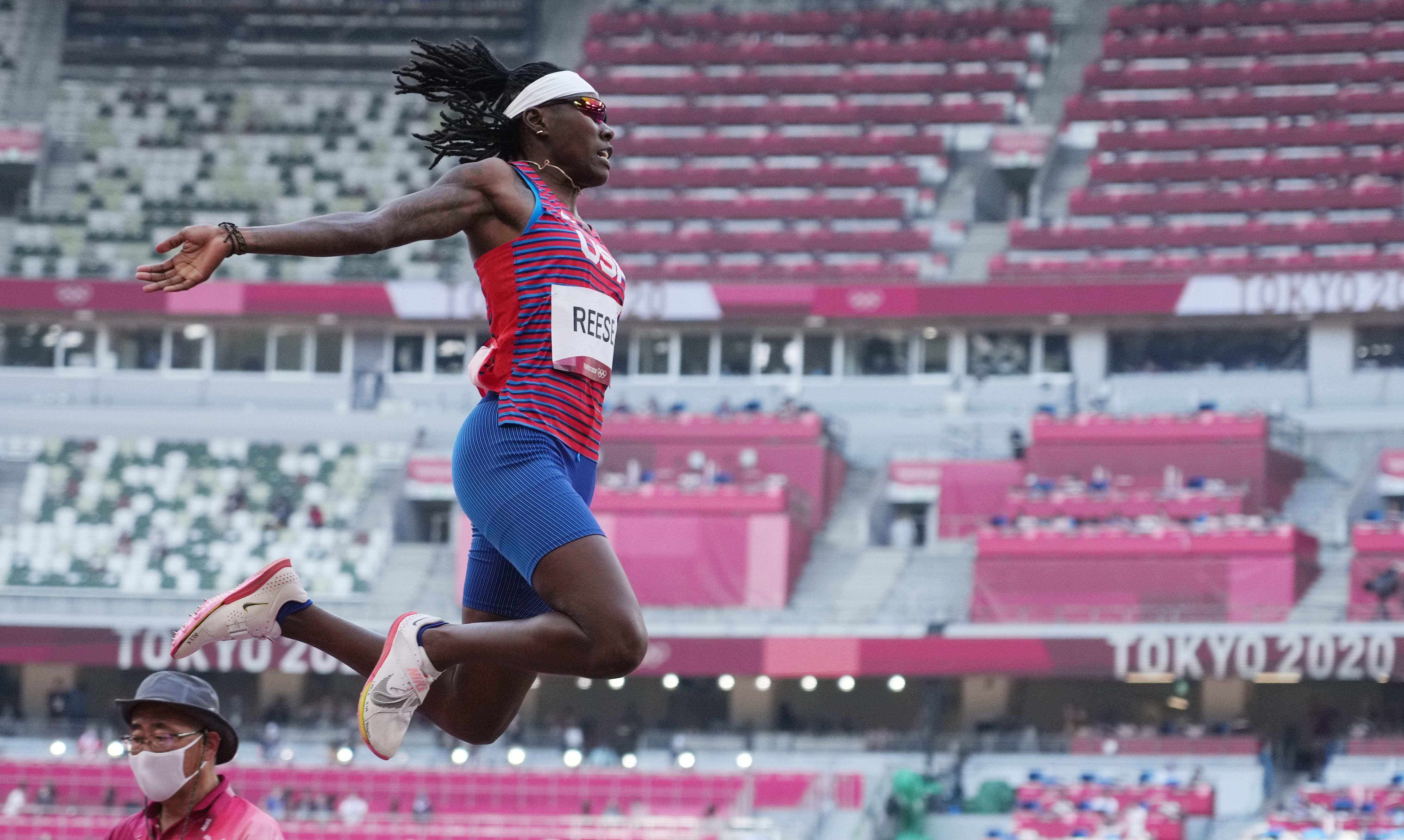Tokyo Olympics live updates: Brittney Reese earns silver in women s long jump, US beach volleyball duo advances