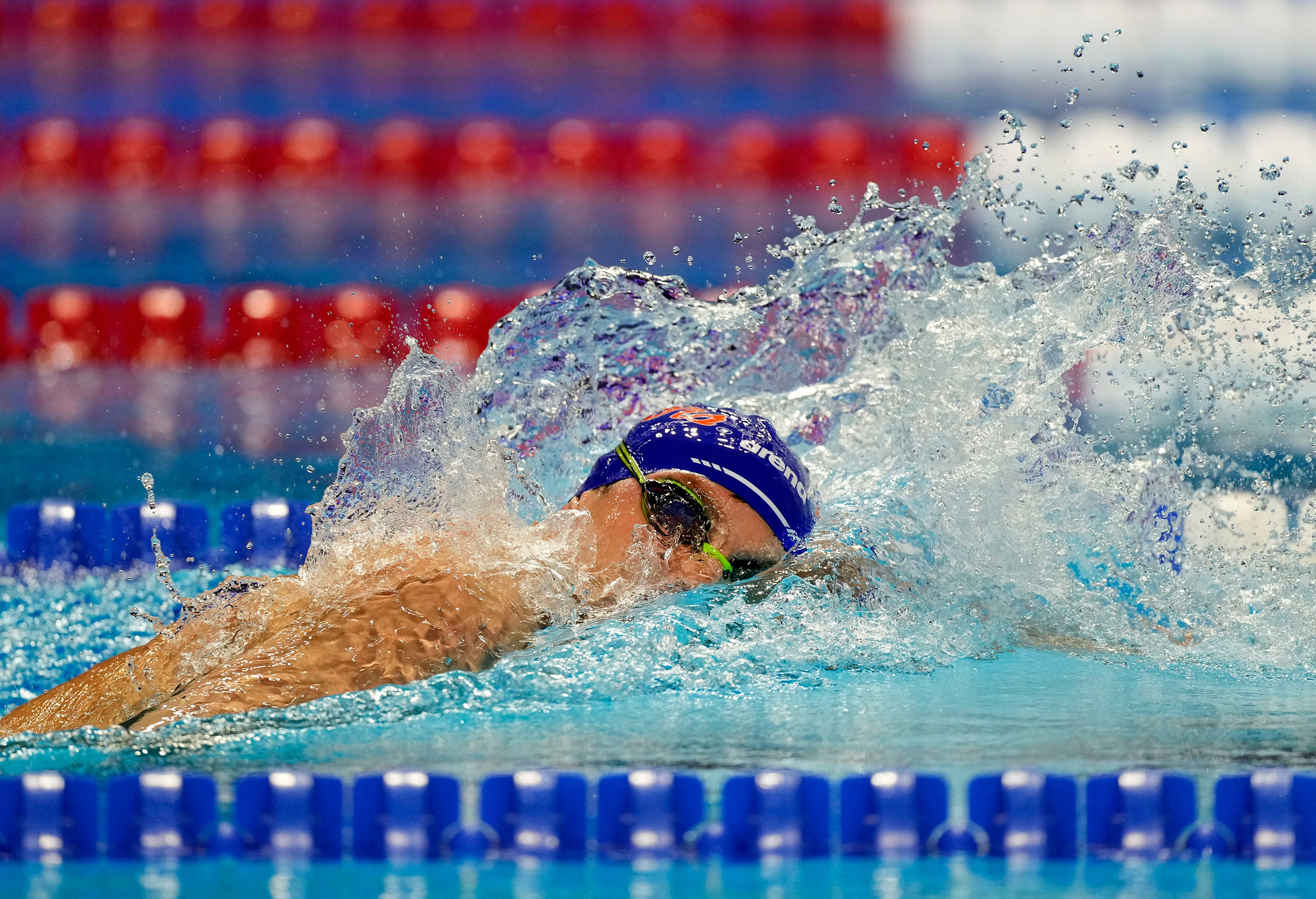American Bobby Finke wins Olympic gold medal in men s 1,500-meter freestyle