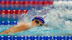 Bobby Finke won his second gold medal of the Tokyo Olympics in the 1,500-meter freestyle.