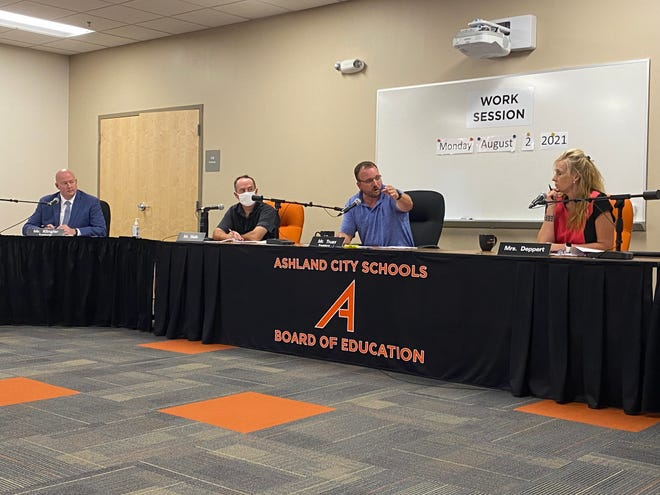The Ashland Board of Education meets for its work session on Aug. 2.